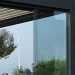 Panneaux coulissant en verre