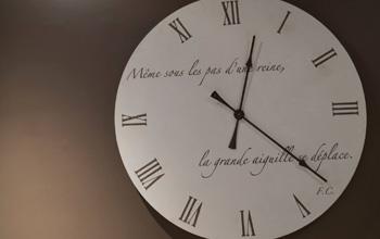 Horloges décoration