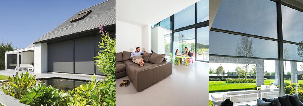 store vertical de protection solaire fixscreen novirtua. Black Bedroom Furniture Sets. Home Design Ideas