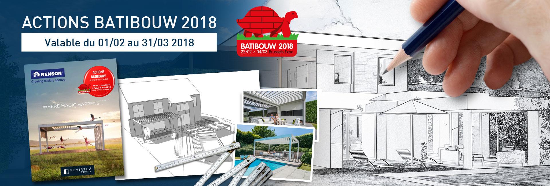 Actions Batibouw 2018