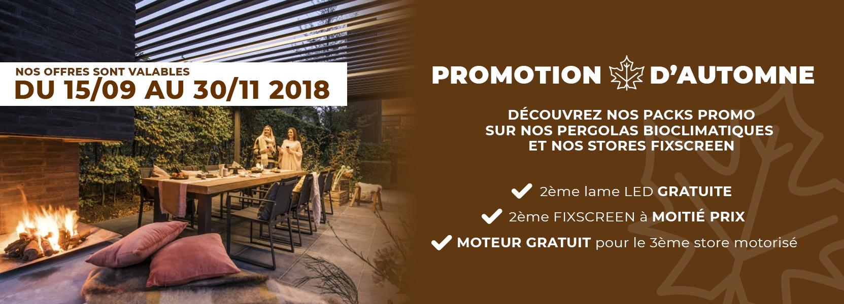 Promotion d'automne Novirtua